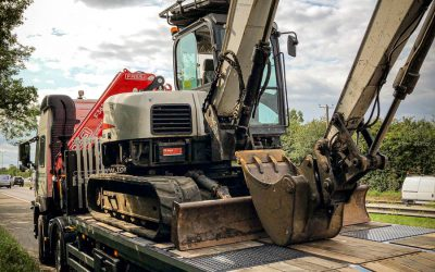 Bobcat E80 Excavator recovered from Essex