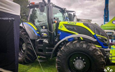 CanTrack support Police Scotland at the Perth Agricultural Show
