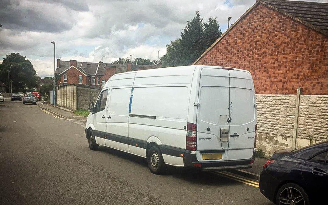 Mercedes Sprinter recovered