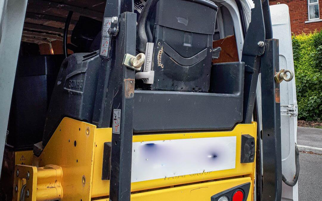Bomag Roller Recovered