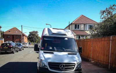 Mercedes Sprinter stolen and recovered from Greater London