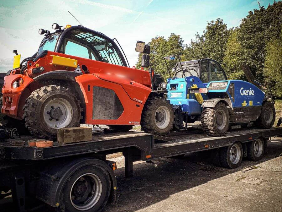 Genie telehandler stolen/recovered from Yorkshire