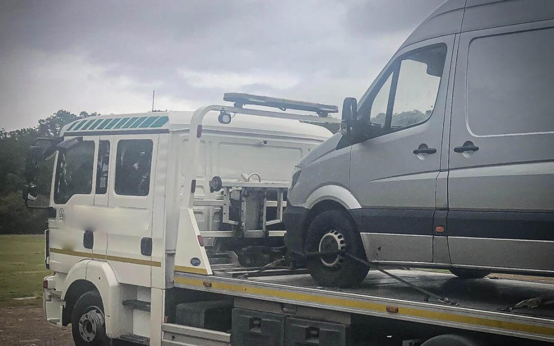 Mercedes Sprinter Stolen from Greater London