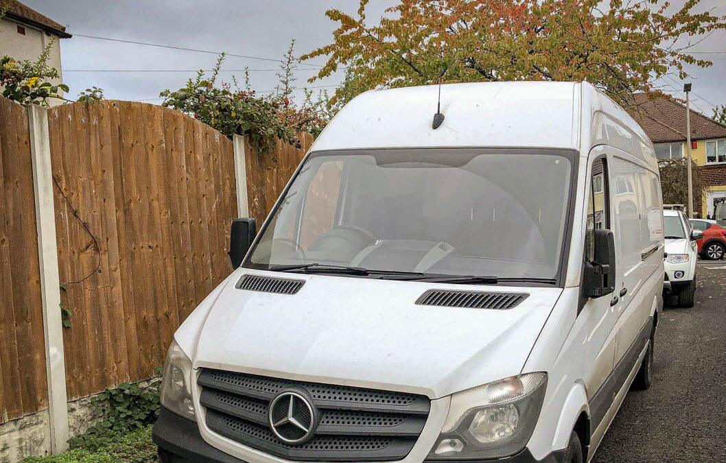 Mercedes Sprinter van stolen from West Midlands