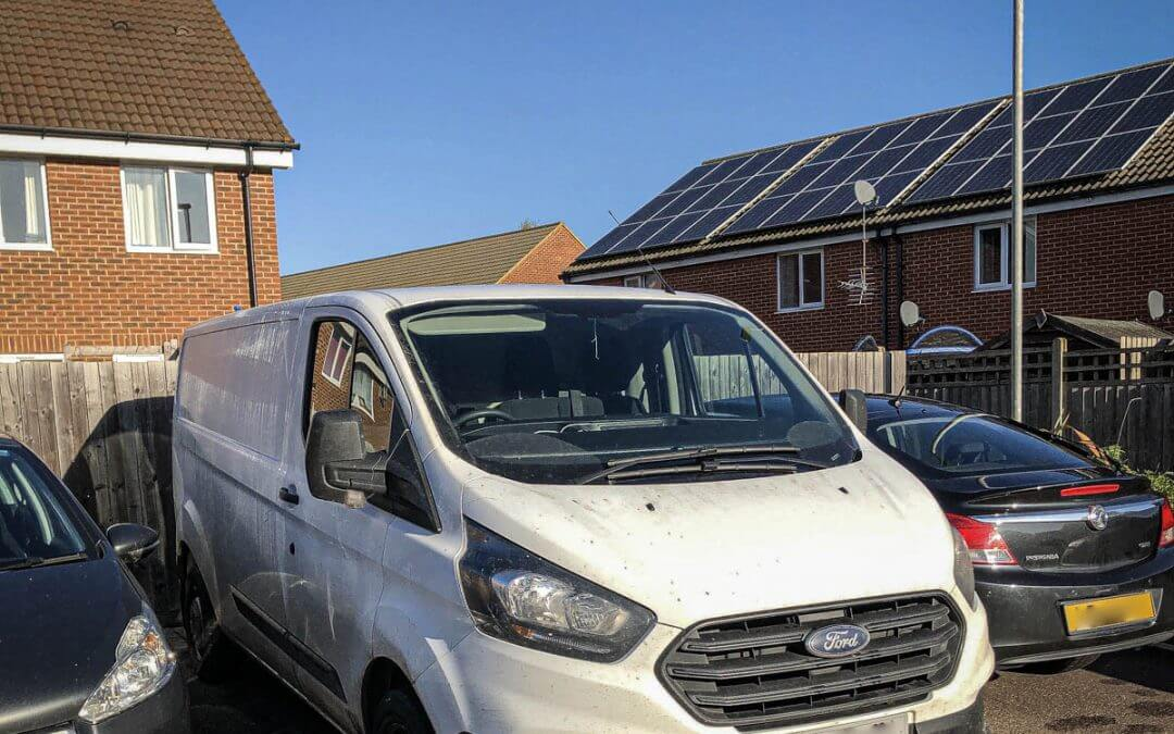 Ford Transit stolen/recovered from Linclonshire
