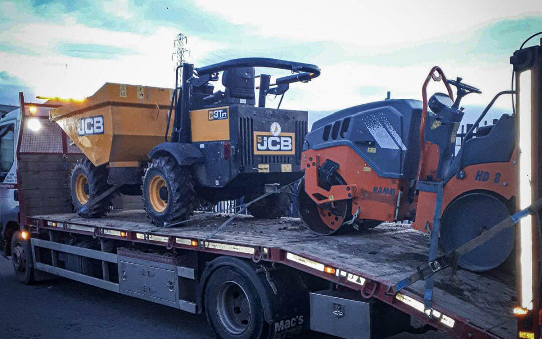 JCB 3Ton Dumper stolen/recovered from West Midlands