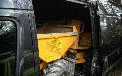 Thwaites 1 Ton Dumper stolen/recovered from Greater London