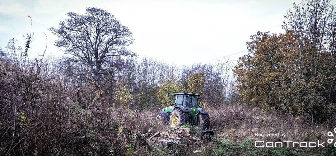 John Deere Tractor stolen/recovered from Yorkshire