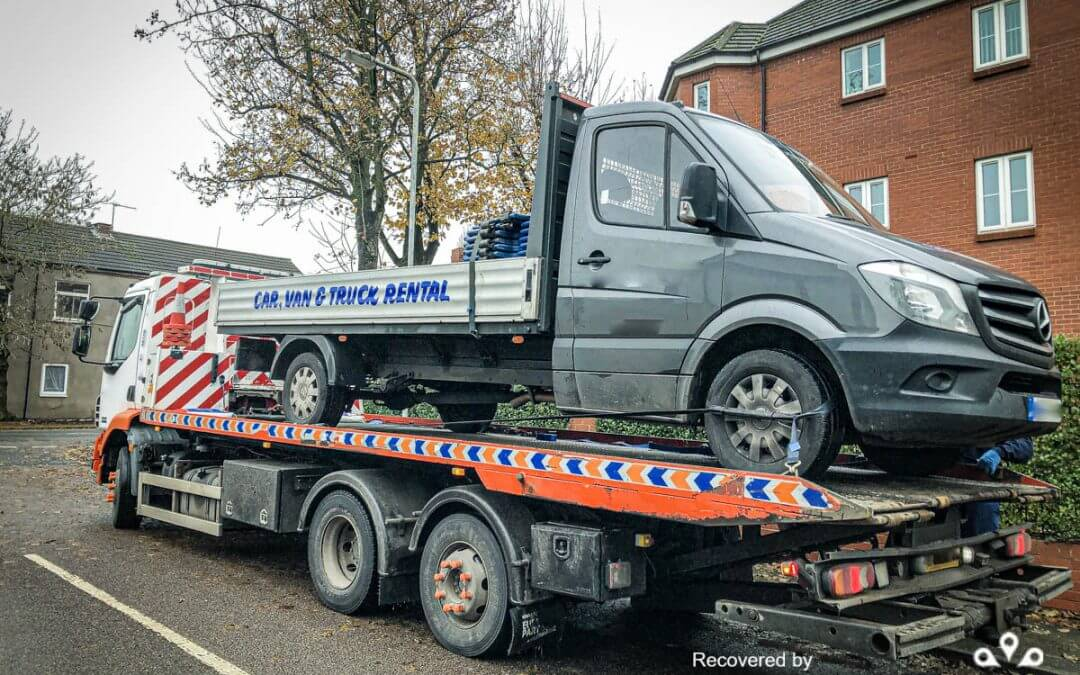 Mercedes Sprinter stolen and recovered from West Midlands
