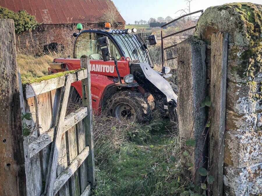 Telehandler stolen and recovered from East Midlands