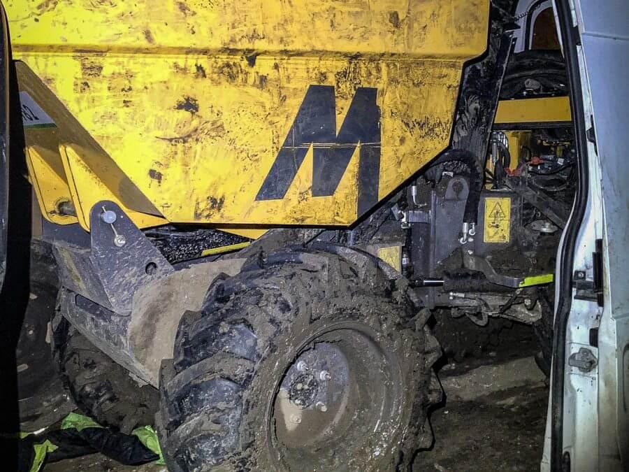 1 Ton Hi Tip Dumper Stolen and recovered in Hertfordshire