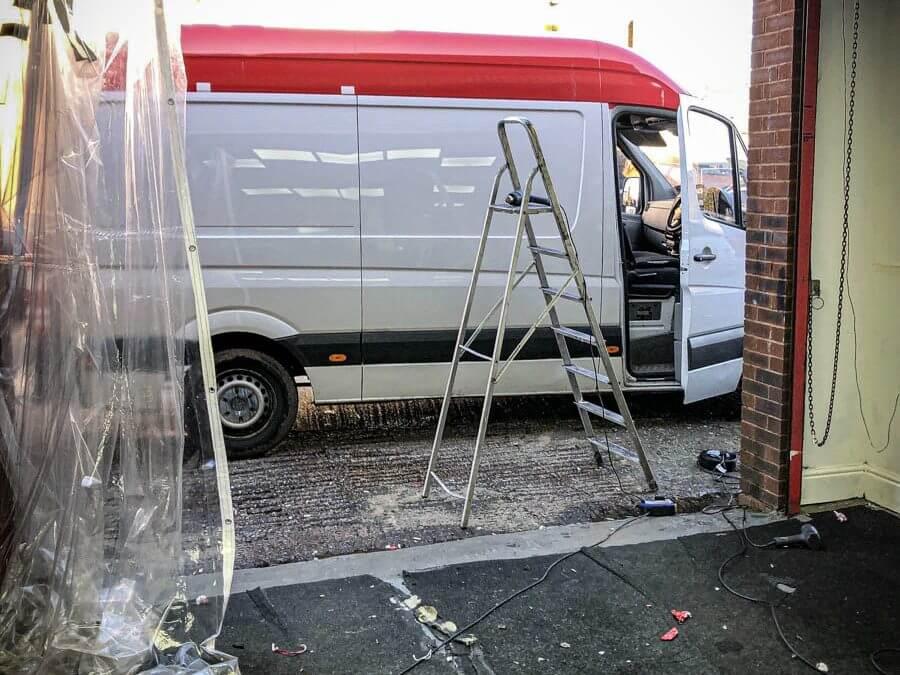 Mercedes Sprinter van stolen from West Midlands