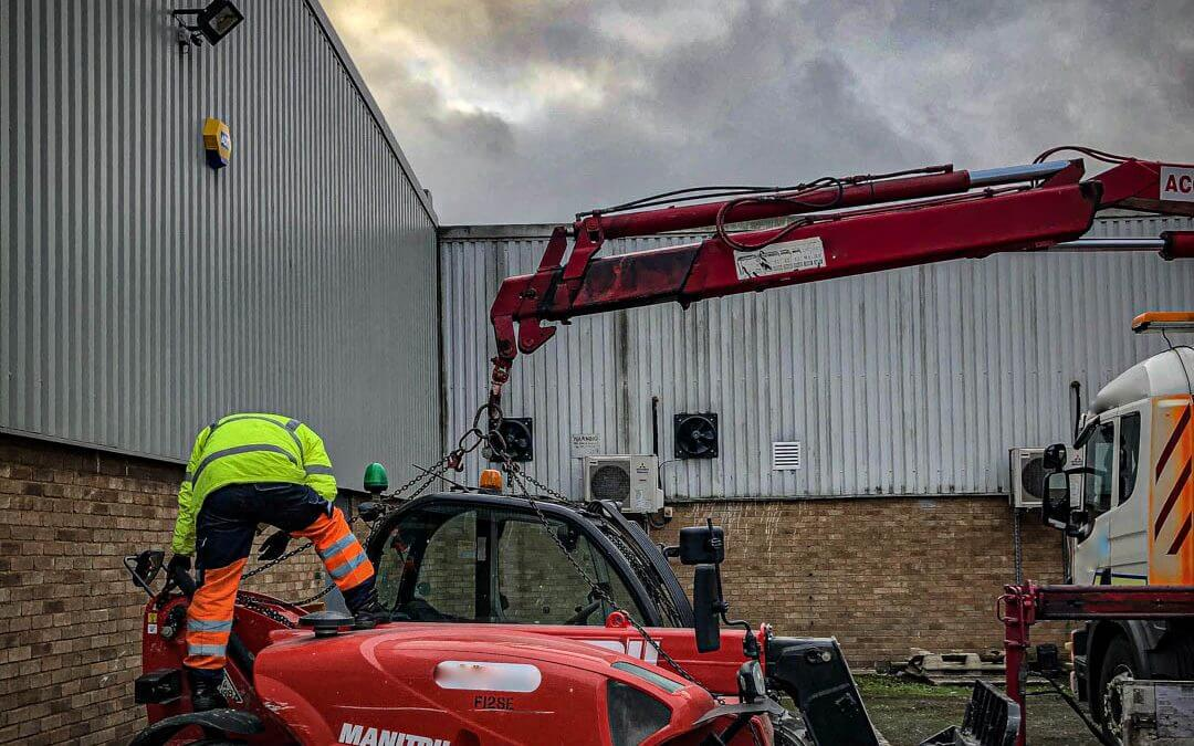 Telehandler stolen from London, recovered in Essex