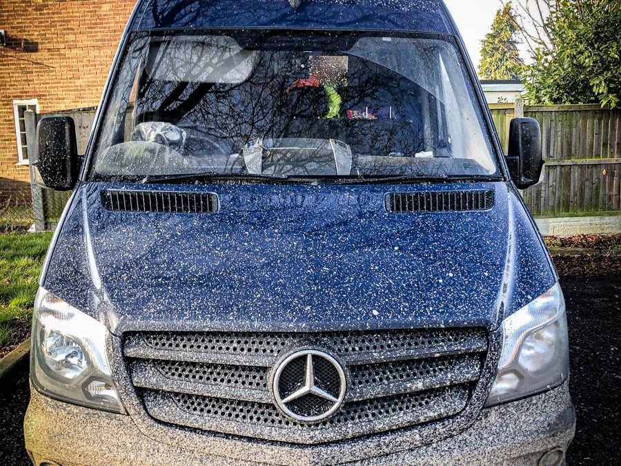 Mercedes Sprinter van stolen overnight from a residential area in Essex