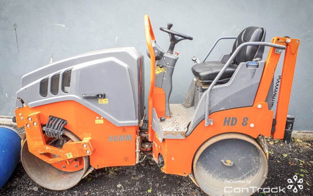 Hamm roller stolen from Buckinhamshire, recovered in Ireland