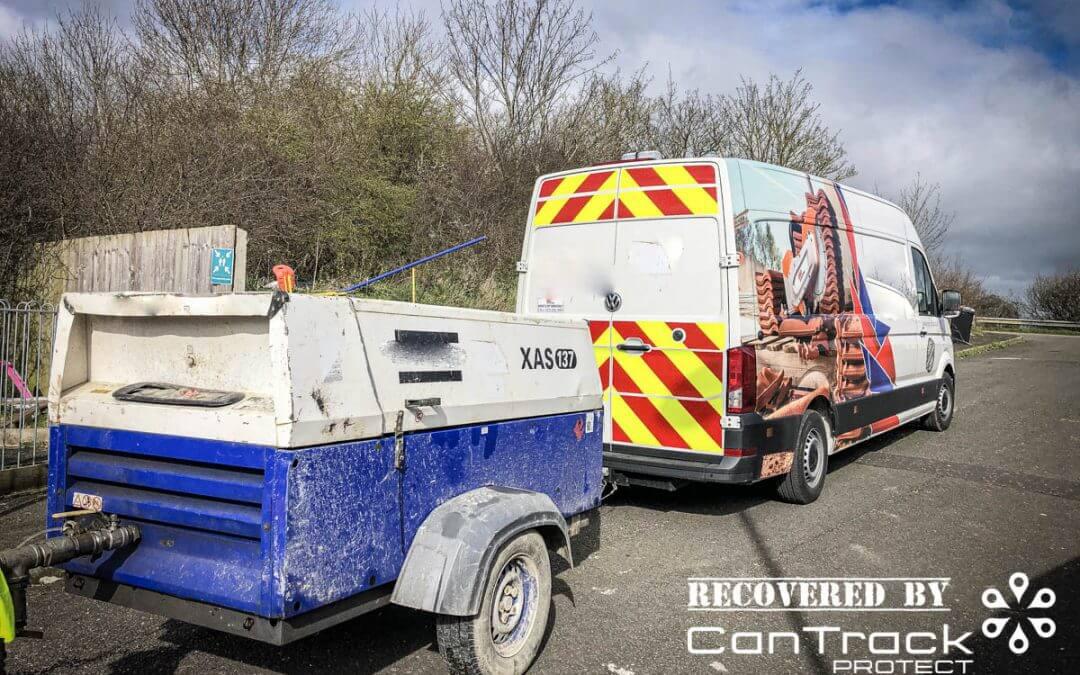 Atlas Copco XAS137 Compressor stolen from Berkshire recovered in Oxfordshire
