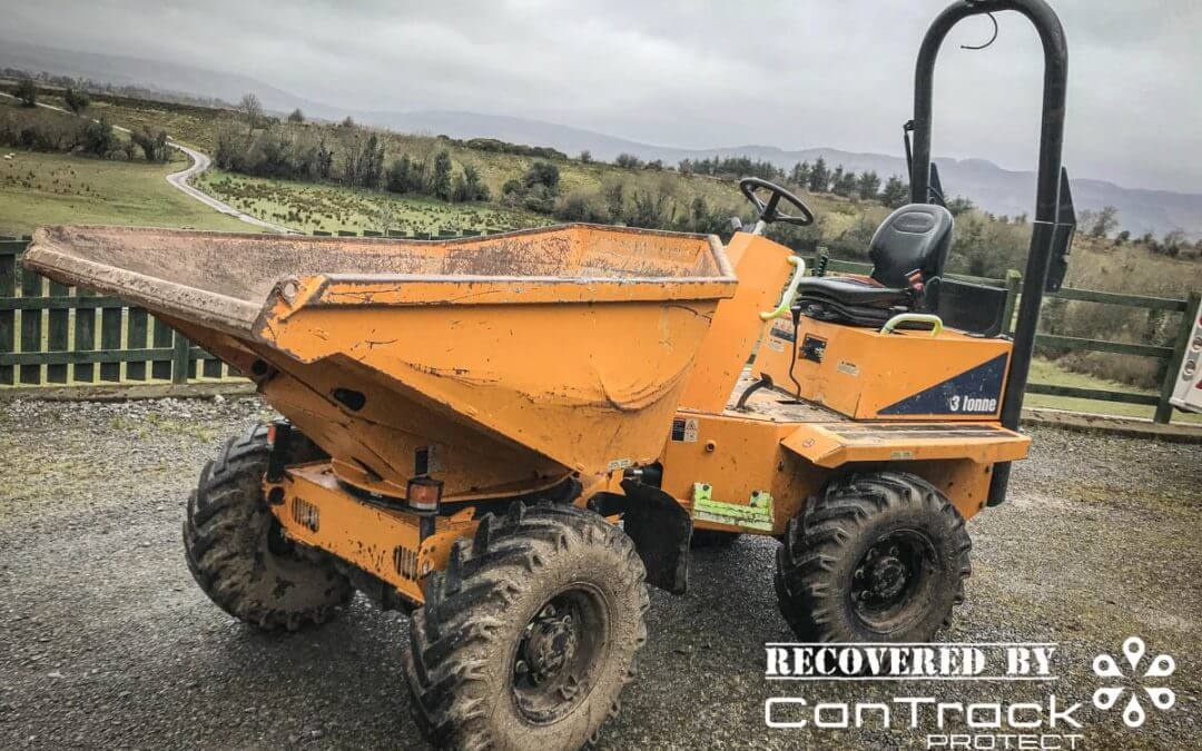 Stolen Thwaites 3 Tonne dumper recovered in Northern Ireland